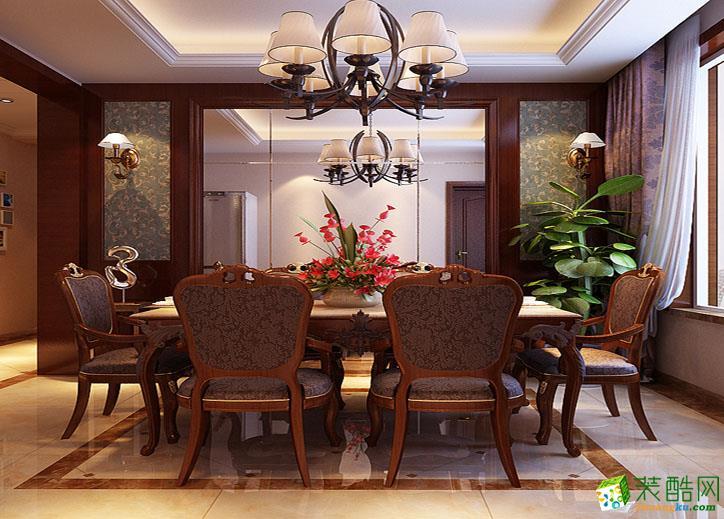 140平米三室一厅欧式风格装修效果图