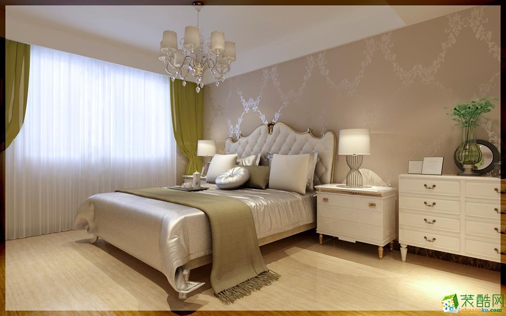 100平三室一厅欧式风格装修效果图