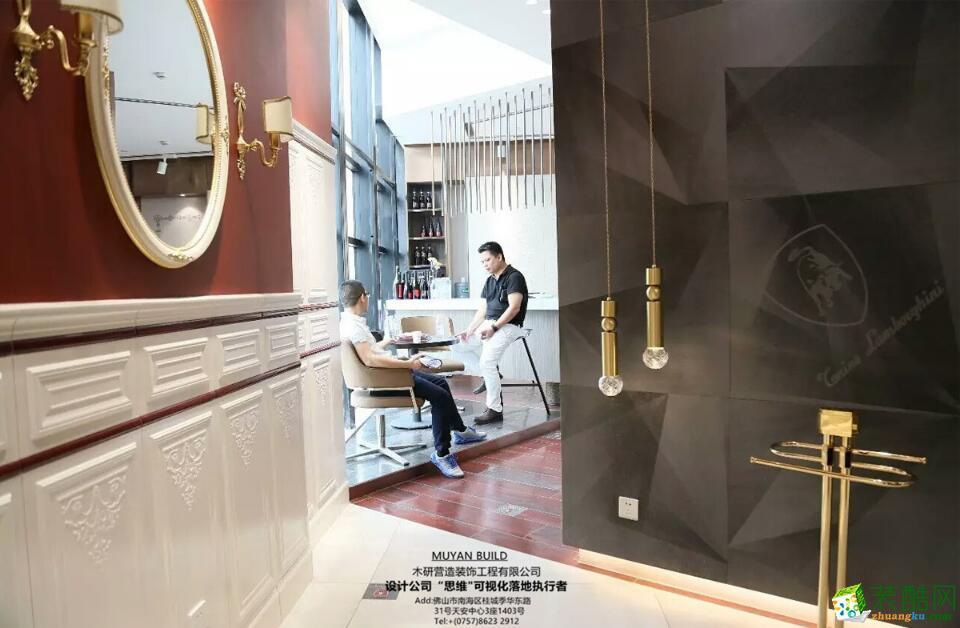 佛山展厅装修-400平米汽车展厅装修效果图-木研装饰