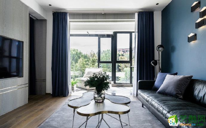 重慶兩室兩廳裝修-90平米現代風格裝修效果圖-佳天下裝飾