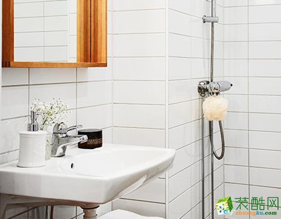 济南江水平装饰-80平米北欧两居室装修案例