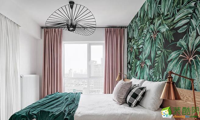 106平三居室北欧风格装修效果图