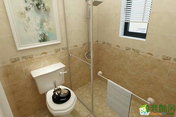 济南伊默装饰-110平米美式三居室装修案例