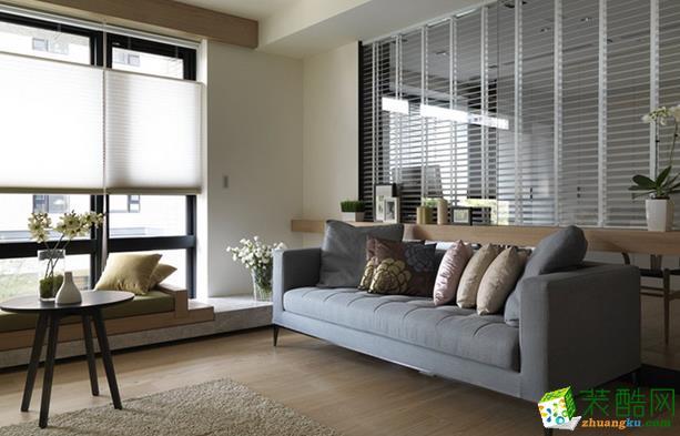 济南一诺装饰-126平米现代三居室装修案例