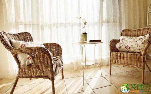 济南一诺装饰-95平米田园两居室装修案例