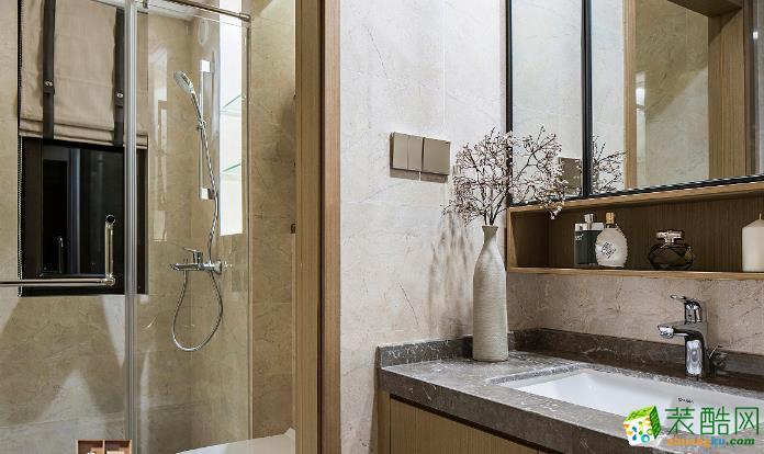 济南一诺装饰-114平米简约三居室装修案例