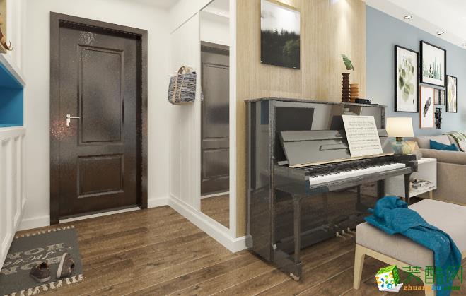 济南一诺装饰-125平米简约三居室装修案例