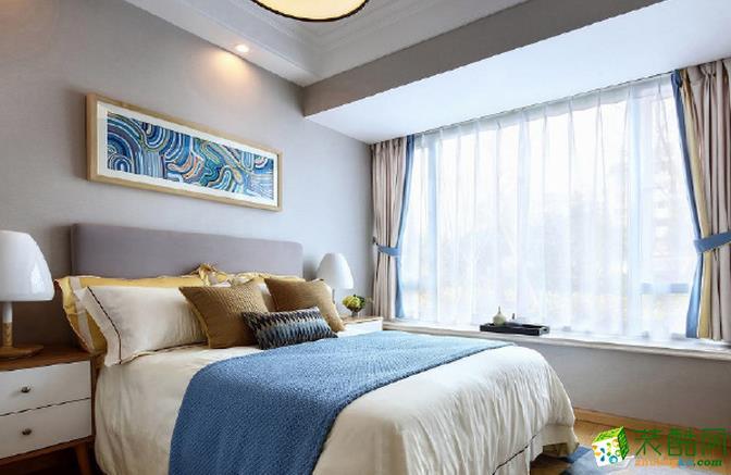 济南一诺装饰-90平米简约两居室装修案例