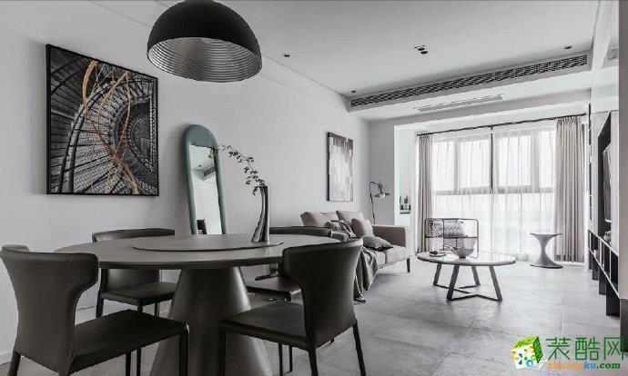 重庆三室一厅装修-90平米现代风格装修效果图赏析-佳天下装饰