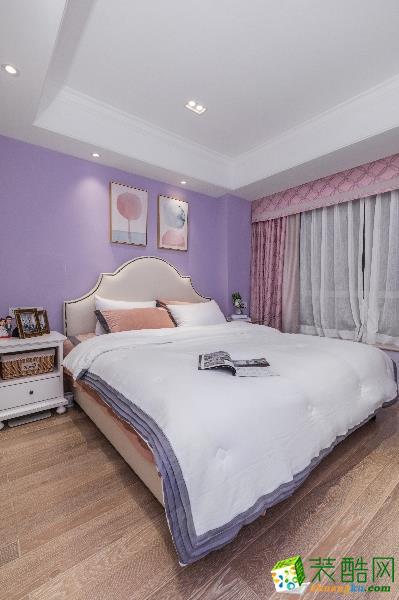 重庆三室两厅装修-金域兰湾120平米时尚风格装修效果图赏析-佳天下装饰