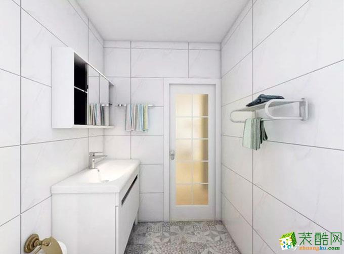 60平米二居室混搭风格装修效果图