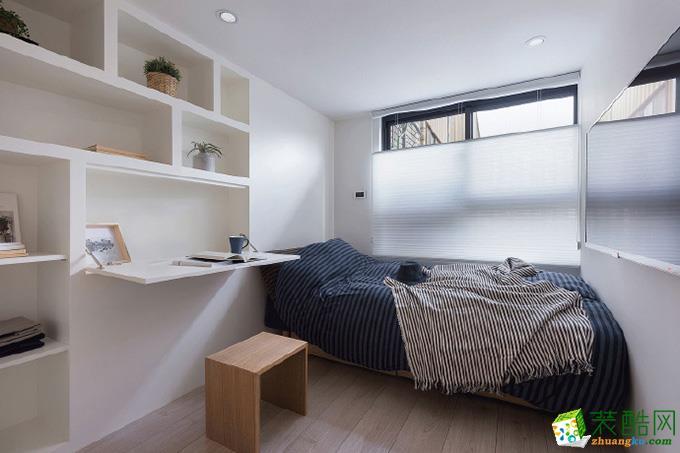 62平米两室一厅原木风格装修效果图