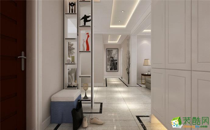 峰光无限装饰丨楠香郡91平两室现代风格