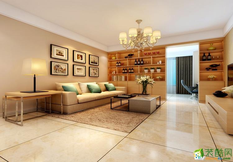 105平米三居室现代风格装修效果图