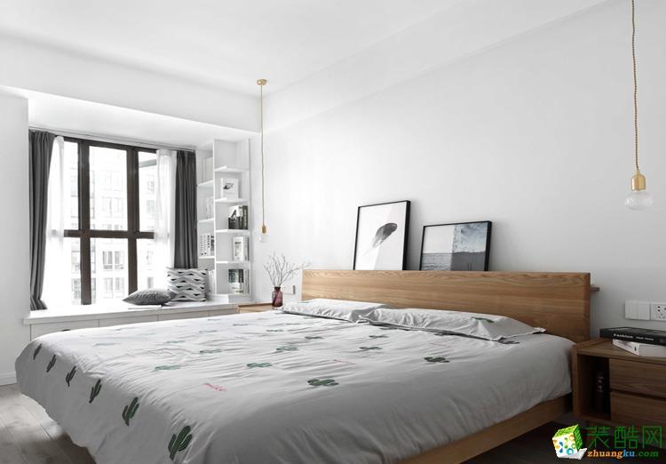 102平米三居室现代风格装修效果图
