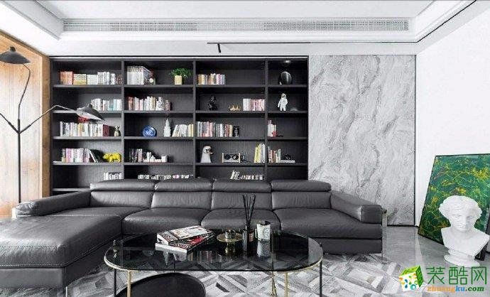 重庆三室两厅装修-现代风格105平米装修效果图赏析-佳天下装饰