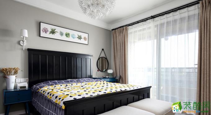 长沙东家乐装饰-115平米混搭三居室装修案例