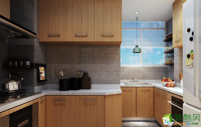 长沙东家乐装饰-80平米简约两居室装修案例