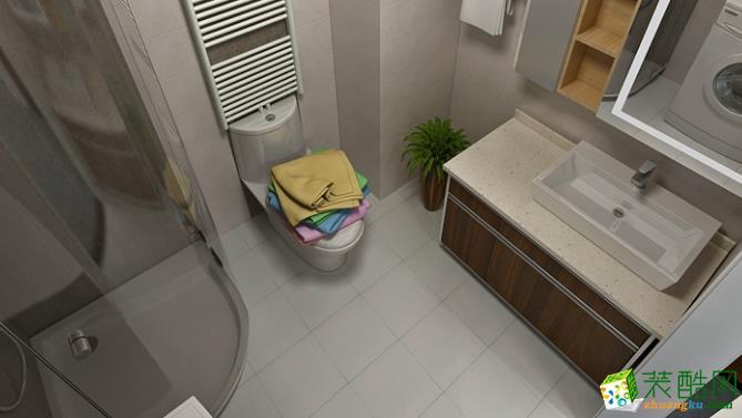 长沙东家乐装饰-135平米混搭三居室装修案例