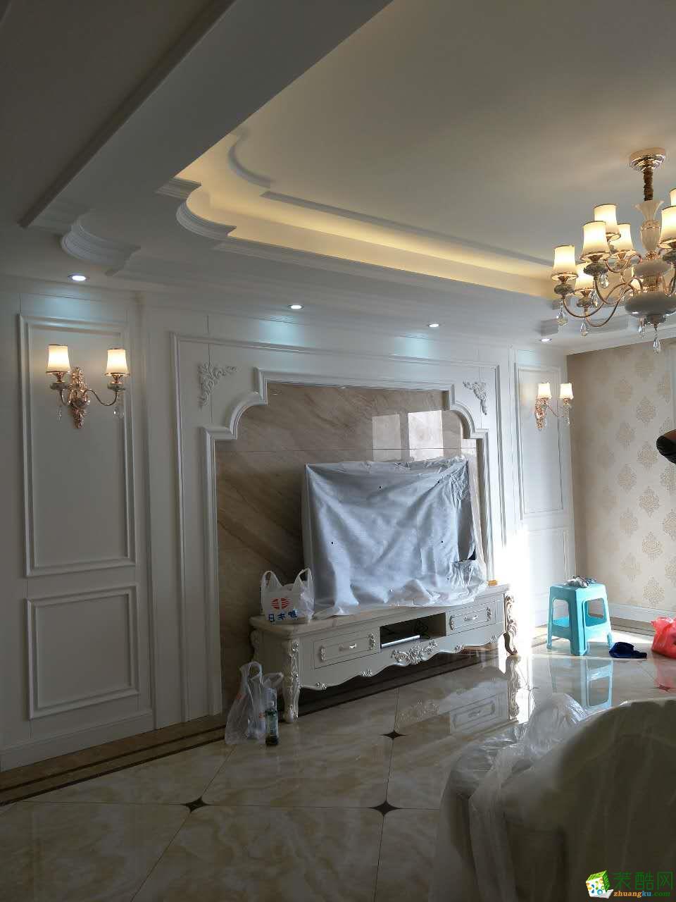 绵阳110�O东原观天下三室两厅一卫欧式风格装修效果图