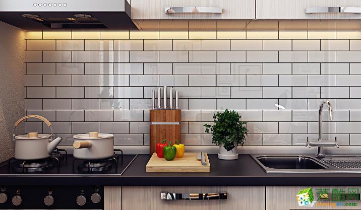 衡阳杰思装饰-65平米单身公寓装修案例