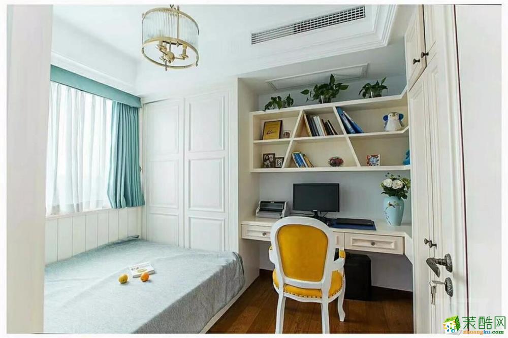 120平三居室欧式风格装修效果图