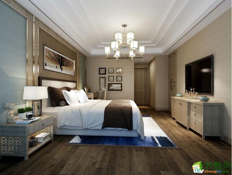 桂林星徽装饰200平复式别墅现代风格装修效果图