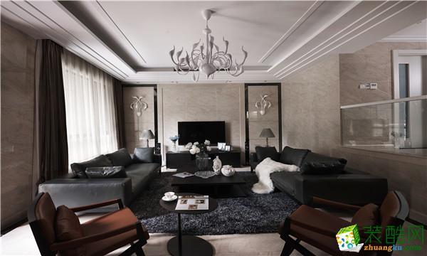 璧山三室两厅装修-116平米现代风格装修效果图-达瑞装饰