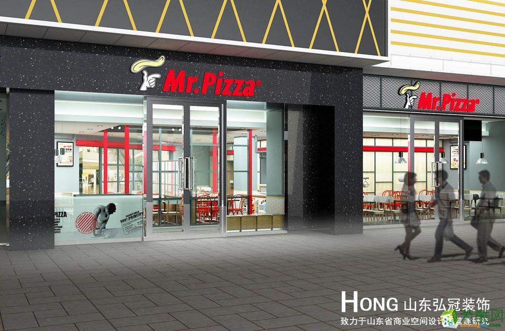 Mr.Pizza美式快餐店裝修