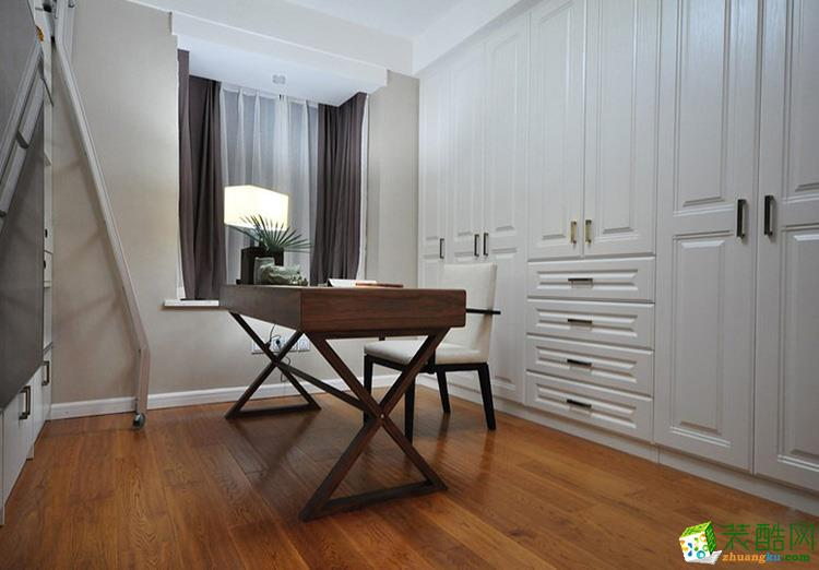 118平米三居室中式风格装修效果图