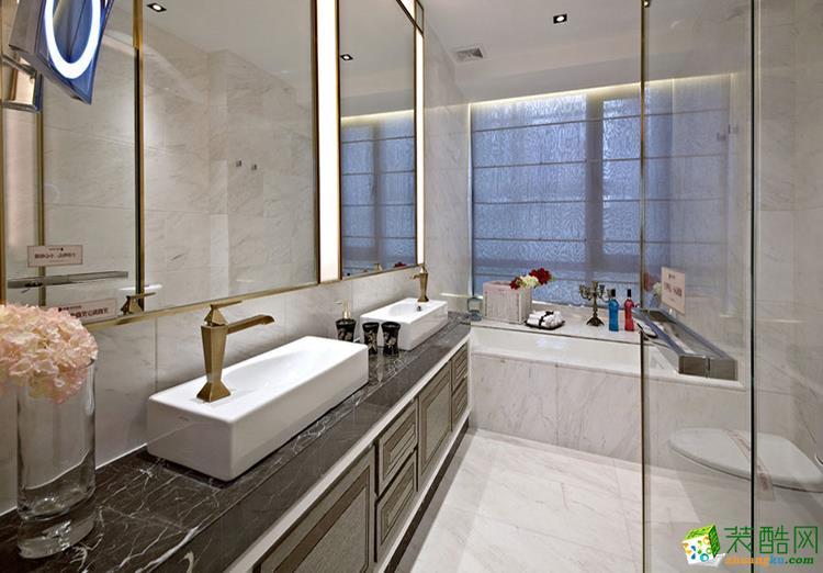 150平米四居室美式风格装修效果图
