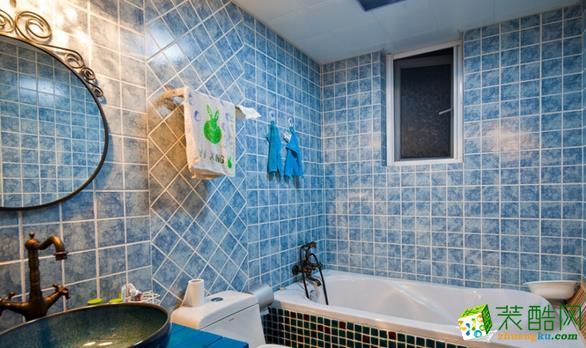 西安四叶草装饰-128平米地中海三居室装修案例