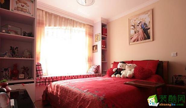 西安四叶草装饰-85平米现代两居室装修案例