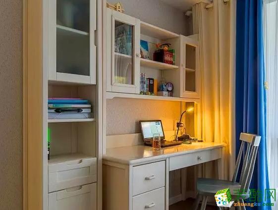 西安四叶草装饰-118平米现代三居室装修案例