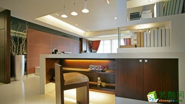 诗韵兰庭139�O现代简约式【两室一厅】装修案例