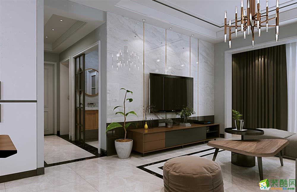 武汉116�O三室一厅一卫现代简约风格装修设计效果图