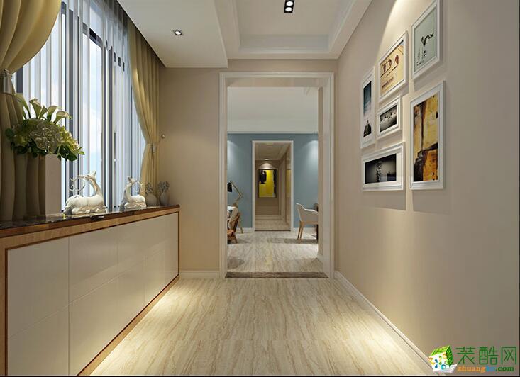 石家庄三室一厅一卫装修―品凡装饰90平北欧风格装修效果图