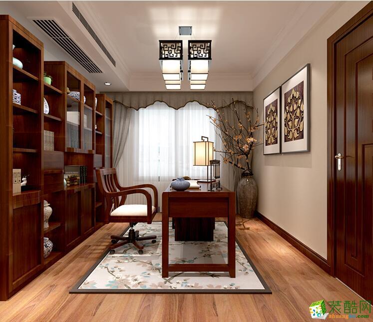 石家庄三室两厅一卫装修―品凡装饰120平新中式风格装修效果图