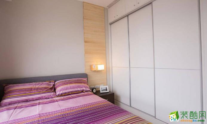 济南汉嘉装饰-128平米简欧三居室装修案例
