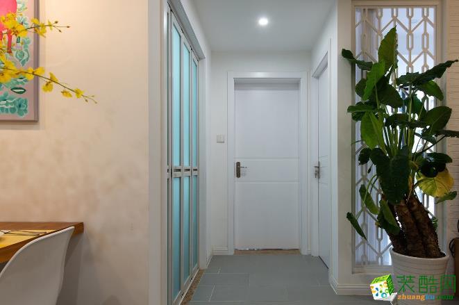 济南汉嘉装饰-115平米现代三居室装修案例