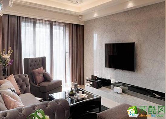 济南汉嘉装饰-80平米现代两居室装修案例
