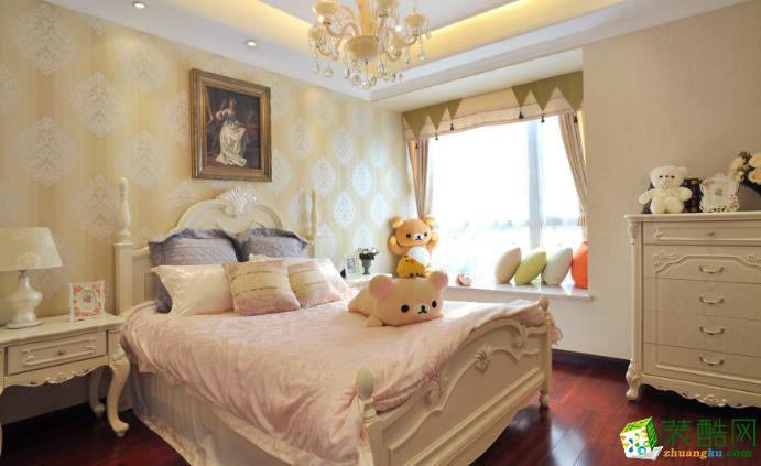 西安四叶草装饰-130平米法式三居室装修案例