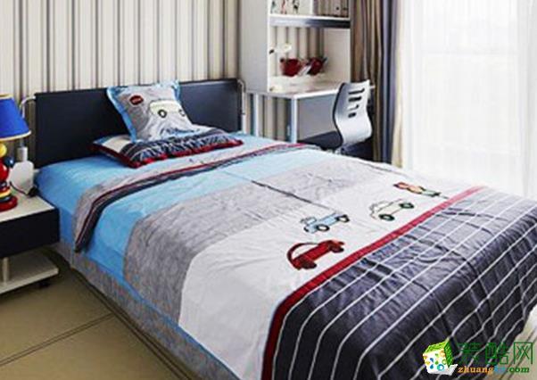 西安四叶草装饰-110平米现代三居室装修案例