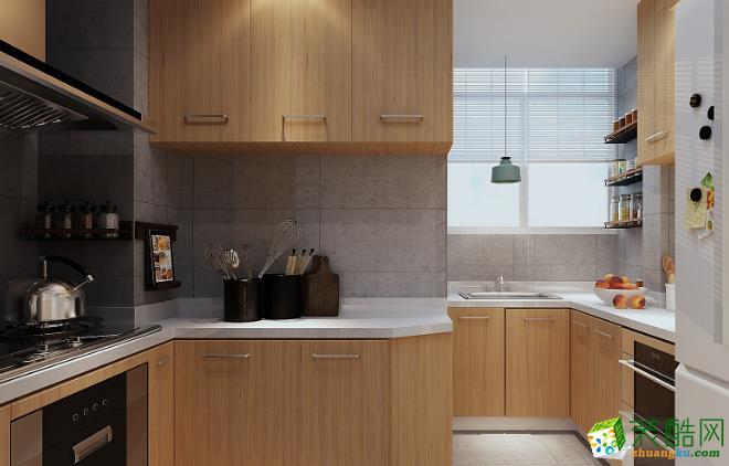 西安宅速美装饰-90平米北欧两居室装修案例