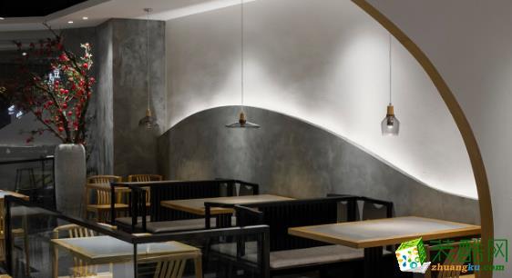 西安汇驰装饰-餐厅装修案例