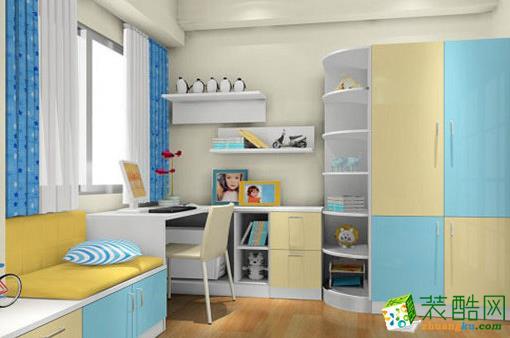 西安家多多装饰-85平米简约两居室装修案例