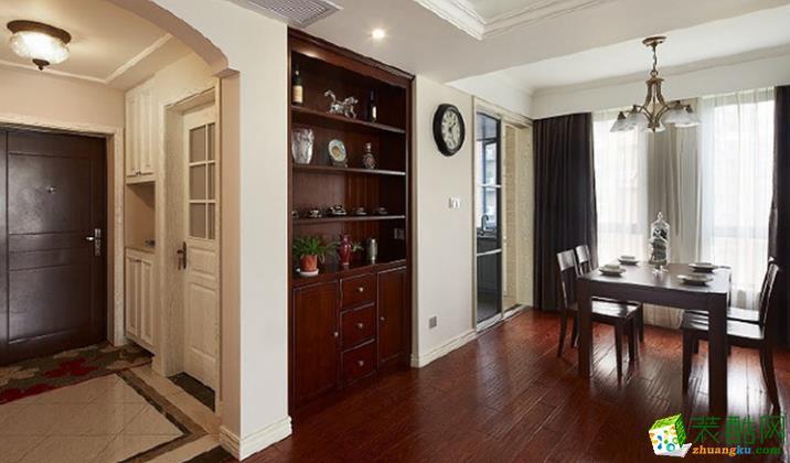 西安家多多装饰-130平米美式三居室装修案例