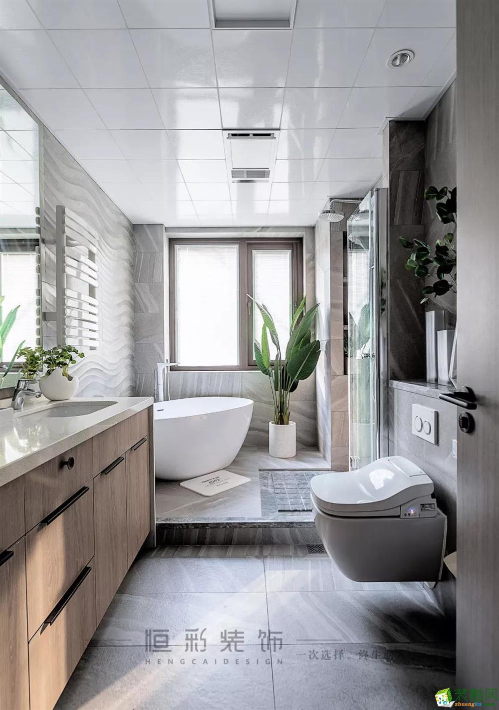 卫浴  【新湖菲林】89㎡北欧 | 客餐厨设计,140方既视感