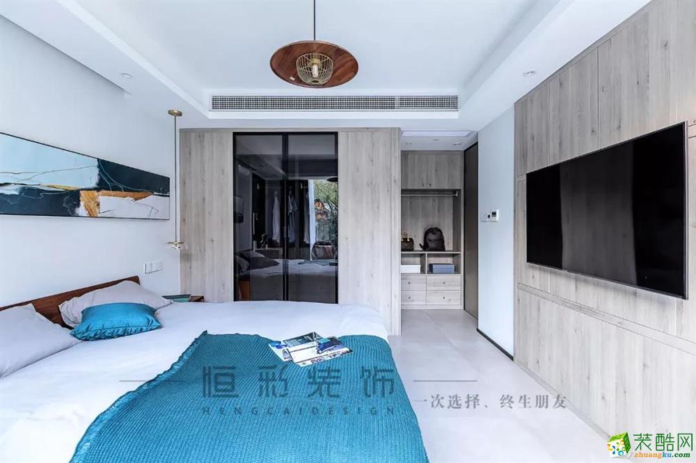 卧室  【新湖菲林】89㎡北欧 | 客餐厨设计,140方既视感