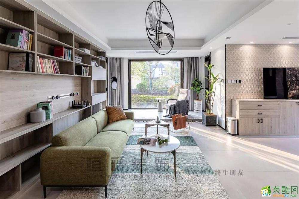 客厅  【新湖菲林】89㎡北欧 | 客餐厨设计,140方既视感